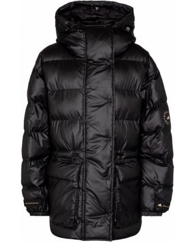 Черная дутая куртка Adidas By Stella Mccartney