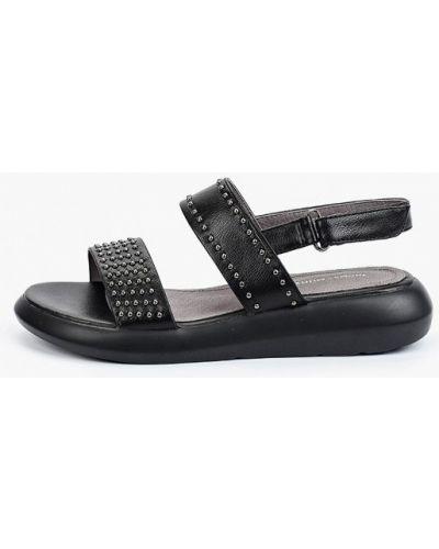 Черные сандалии летние Thomas Munz