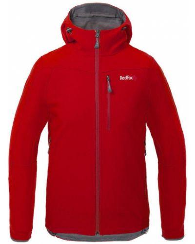 Красная куртка софтшелл Red Fox