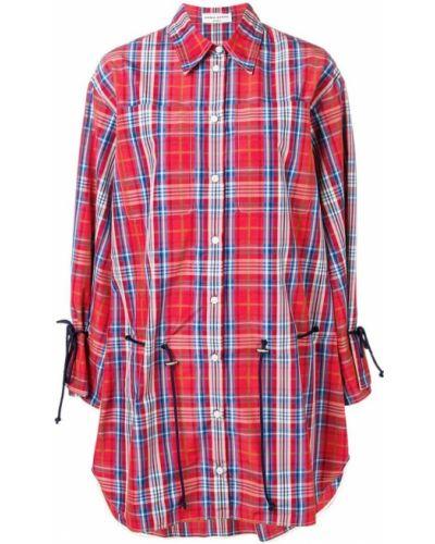 Платье макси длинное - красное Sonia Rykiel