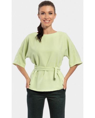 Блузка зеленый весенний Vladi Collection