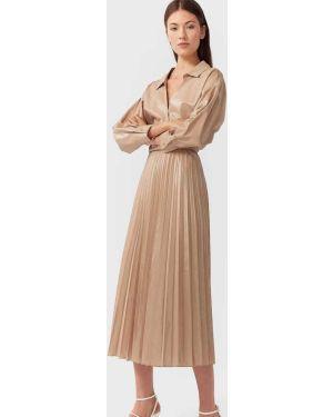 Платье миди Stradivarius