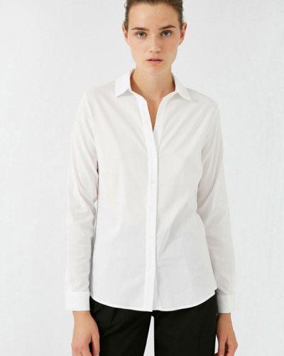 С рукавами белая рубашка Koton