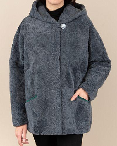 Куртка с капюшоном - серая Dzhanbekoff
