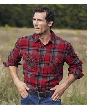 Рубашка в клетку фланелевая Atlas For Men
