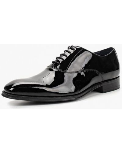 Туфли черные лаковые Bata