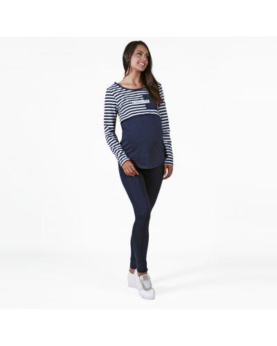 Леггинсы для беременных синий Mothercare