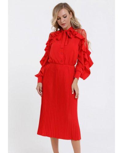 Красное вечернее платье Magnet