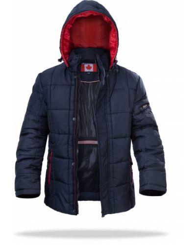 Куртка с капюшоном - синяя Freever