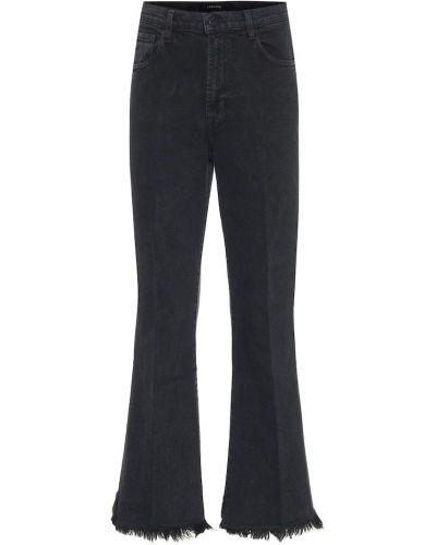 Широкие джинсы mom черные J Brand