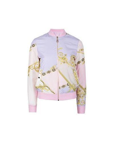 Бомбер розовый Versace Collection