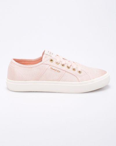 Розовые кеды теннисные Gant