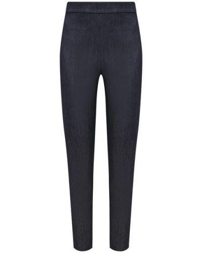 Хлопковые синие брюки St. John