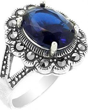 Кольцо из серебра серый Evora