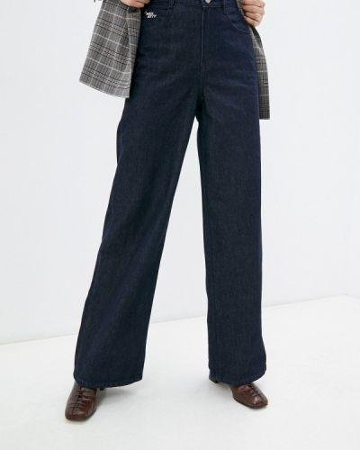 Широкие джинсы - синие Miss Sixty