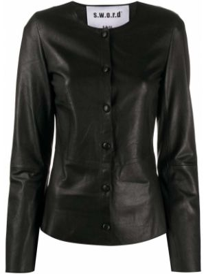 Черная куртка S.w.o.r.d 6.6.44