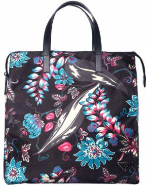 Текстильная сумка Prada