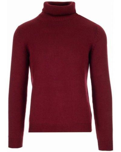 Sweter - fioletowy Roberto Collina