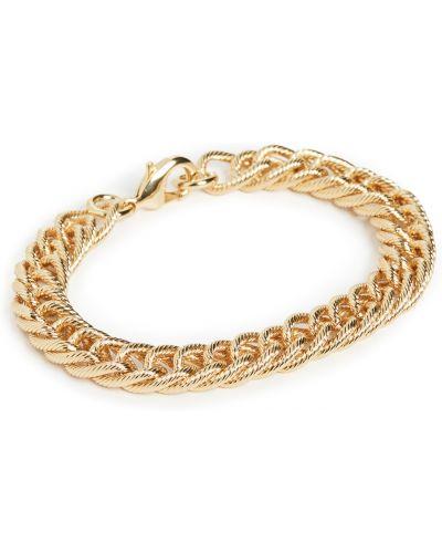 Złota bransoletka ze złota pozłacana Loeffler Randall