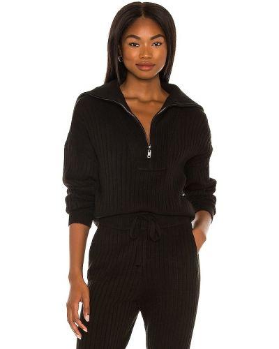 Кашемировый свитер - черный 525