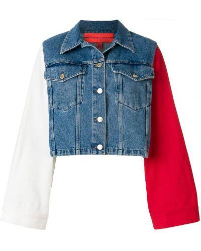 Джинсовая куртка укороченная длинная Tommy Hilfiger