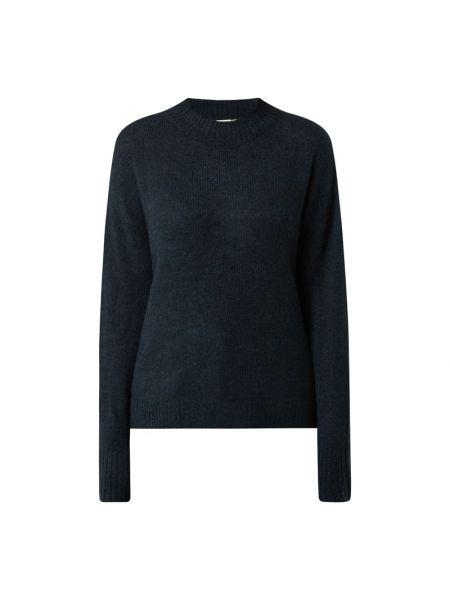Niebieski sweter z długimi rękawami Ichi