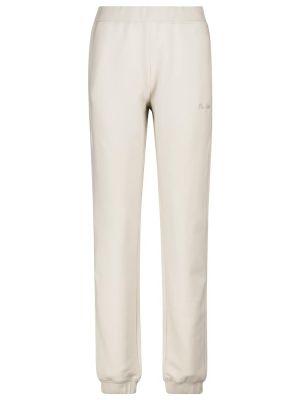 Szare spodnie dresowe bawełniane S Max Mara