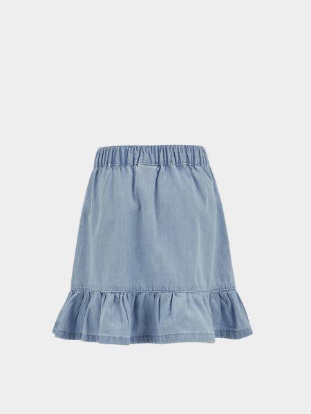 Хлопковая юбка на резинке Defacto