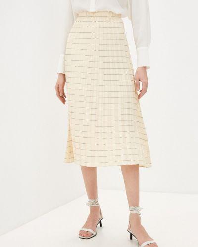 Плиссированная юбка - бежевая Windsor