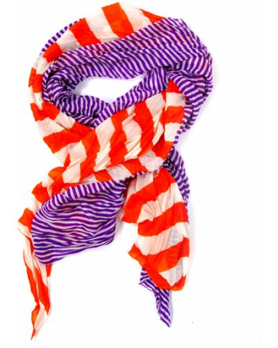 Оранжевый шарф весенний Passigatti