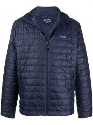 Стеганая куртка - синяя Patagonia