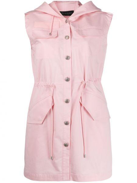 Платье на пуговицах с капюшоном Mr & Mrs Italy