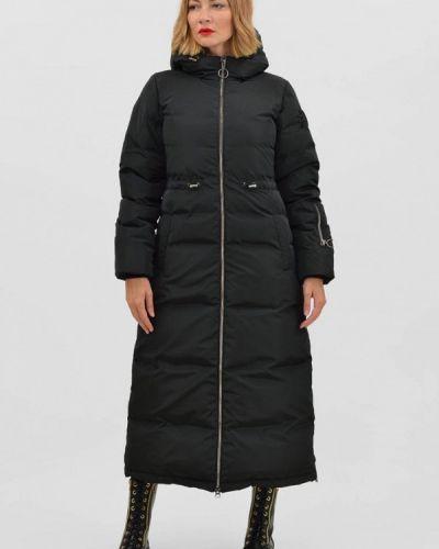 Черная утепленная куртка Pavel Yerokin