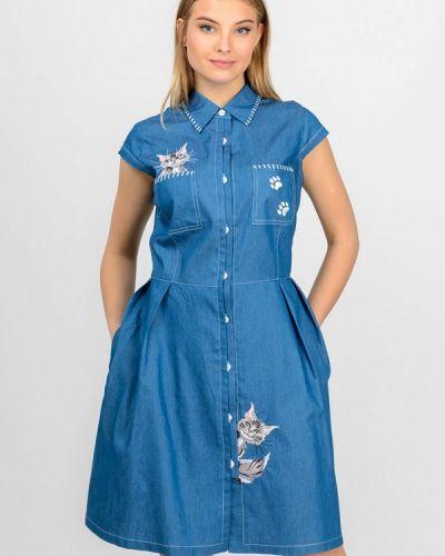 Джинсовое платье Raslov