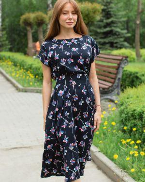 Вечернее платье миди с цветочным принтом Lika Dress