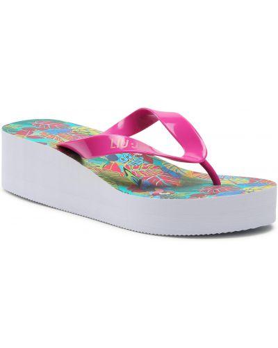 Różowe sandały japonki Liu Jo