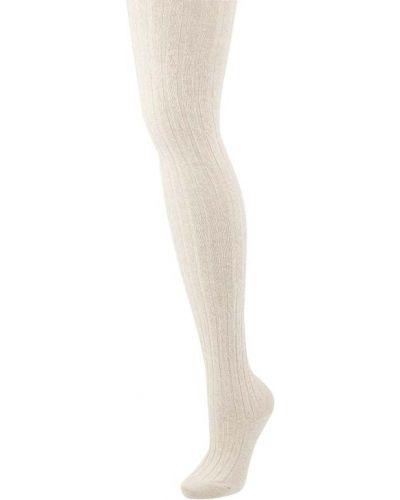 Rajstopy bawełniane - beżowe Falke