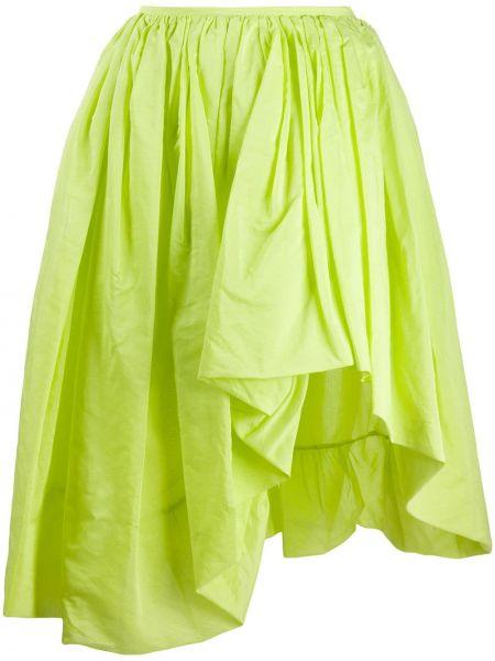 Spódnica asymetryczny limonka Molly Goddard