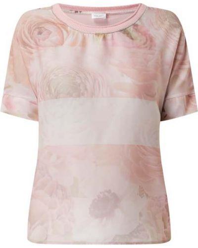 Różowa bluzka bawełniana Gerry Weber
