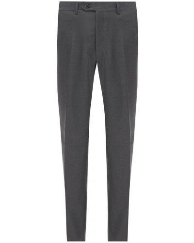 Прямые брюки со стрелками Brioni