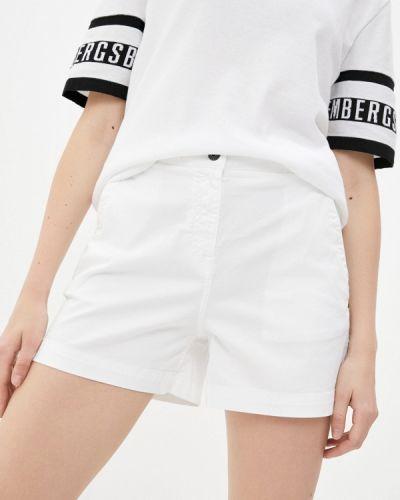 Повседневные белые шорты Bikkembergs