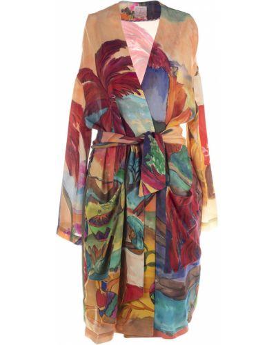 Beżowa sukienka Stella Jean