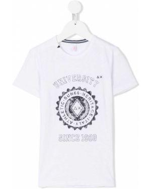 Белая рубашка Sun 68