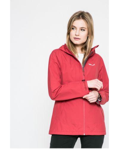 Утепленная куртка с капюшоном водонепроницаемая прямая Salewa