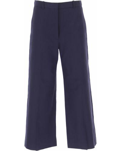 Niebieskie spodnie bawełniane Kenzo