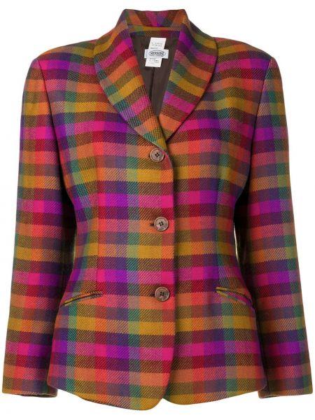 Однобортный удлиненный пиджак на пуговицах винтажный Missoni Pre-owned