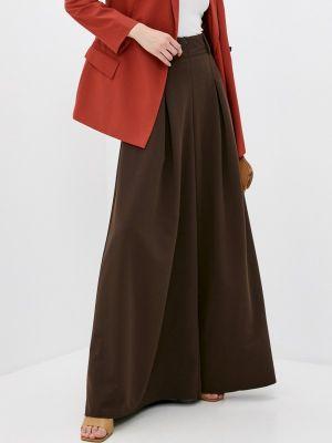 Коричневые брюки повседневные Irma Dressy
