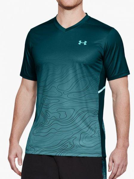 Зеленая спортивная спортивная футболка Under Armour