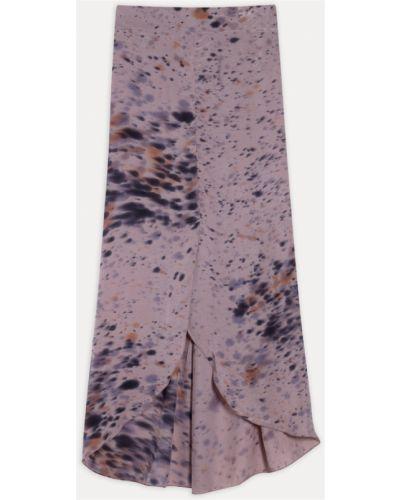 Spódnica - fioletowa Rabens Saloner