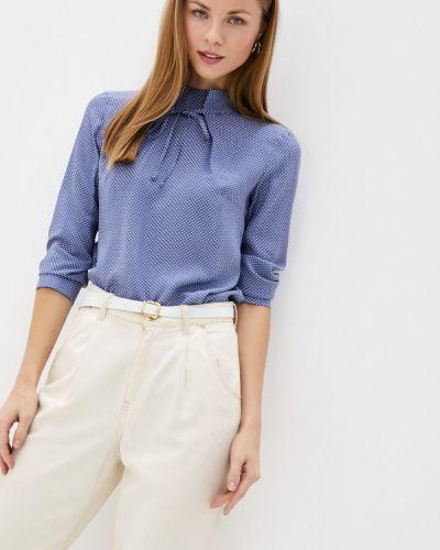Синяя блузка с длинным рукавом с длинными рукавами Mankato